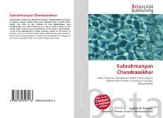 Bookcover of Subrahmanyan Chandrasekhar