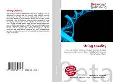 Bookcover of String Duality