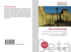 Bookcover of Paris 8 University