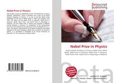 Bookcover of Nobel Prize in Physics