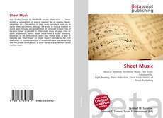 Bookcover of Sheet Music