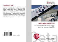 Thunderbird (B-17)的封面