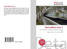 Bookcover of Paris Métro Line 1