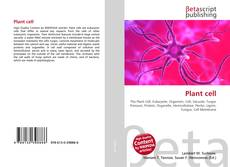 Bookcover of Plant cell