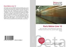 Bookcover of Paris Métro Line 12