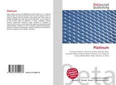 Bookcover of Platinum