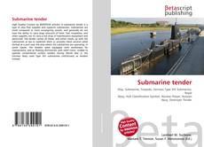Submarine tender kitap kapağı