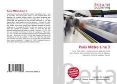 Couverture de Paris Métro Line 3