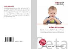 Borítókép a  Table Manners - hoz