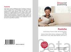 Capa do livro de Pastiche