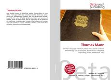 Bookcover of Thomas Mann