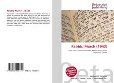 Bookcover of Rabbis' March (1943)