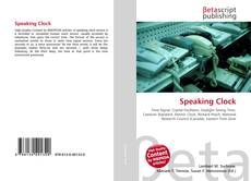 Capa do livro de Speaking Clock