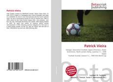 Capa do livro de Patrick Vieira