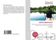 Borítókép a  Ulrich Kleemann - hoz