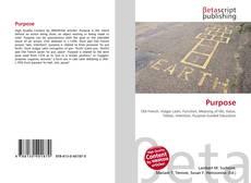 Bookcover of Purpose