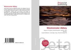 Couverture de Westminster Abbey