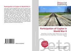 Participation of Ceylon in World War II的封面
