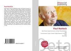 Bookcover of Paul Rostock
