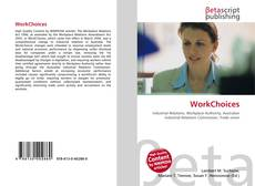 Bookcover of WorkChoices