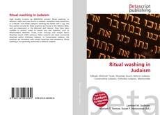 Bookcover of Ritual washing in Judaism
