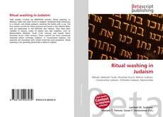 Capa do livro de Ritual washing in Judaism