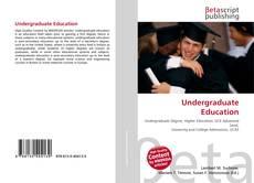 Buchcover von Undergraduate Education