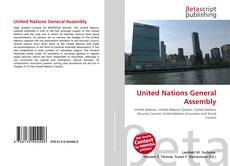 Bookcover of United Nations General Assembly