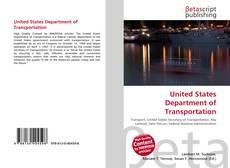 United States Department of Transportation kitap kapağı