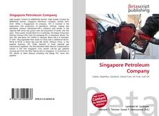 Bookcover of Singapore Petroleum Company