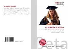 Buchcover von Academia Romana