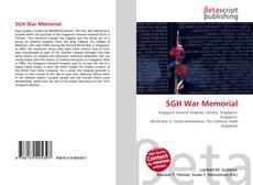 Capa do livro de SGH War Memorial