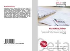 Bookcover of Prandtl Number