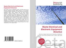 Waste Electrical and Electronic Equipment Directive kitap kapağı