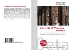 Borítókép a  University of Wisconsin–Madison - hoz