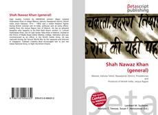 Buchcover von Shah Nawaz Khan (general)