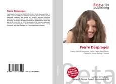 Bookcover of Pierre Desproges