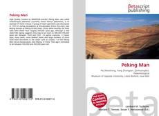 Bookcover of Peking Man