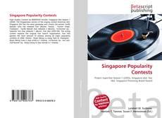 Portada del libro de Singapore Popularity Contests