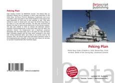 Bookcover of Peking Plan