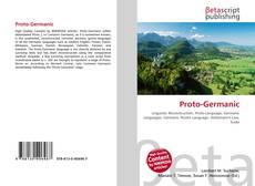 Bookcover of Proto-Germanic