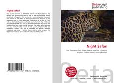 Copertina di Night Safari
