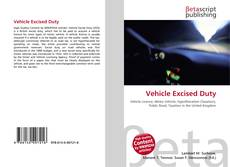 Buchcover von Vehicle Excised Duty