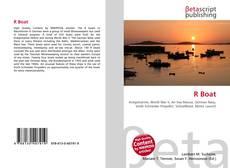 Capa do livro de R Boat