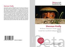Bookcover of Sherman Firefly