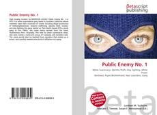 Buchcover von Public Enemy No. 1