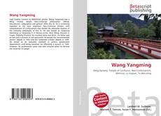 Capa do livro de Wang Yangming