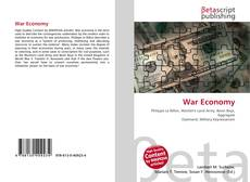 Couverture de War Economy