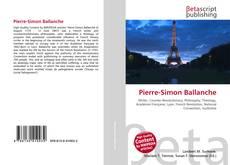 Обложка Pierre-Simon Ballanche