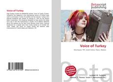 Bookcover of Voice of Turkey